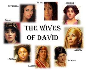 David's wives